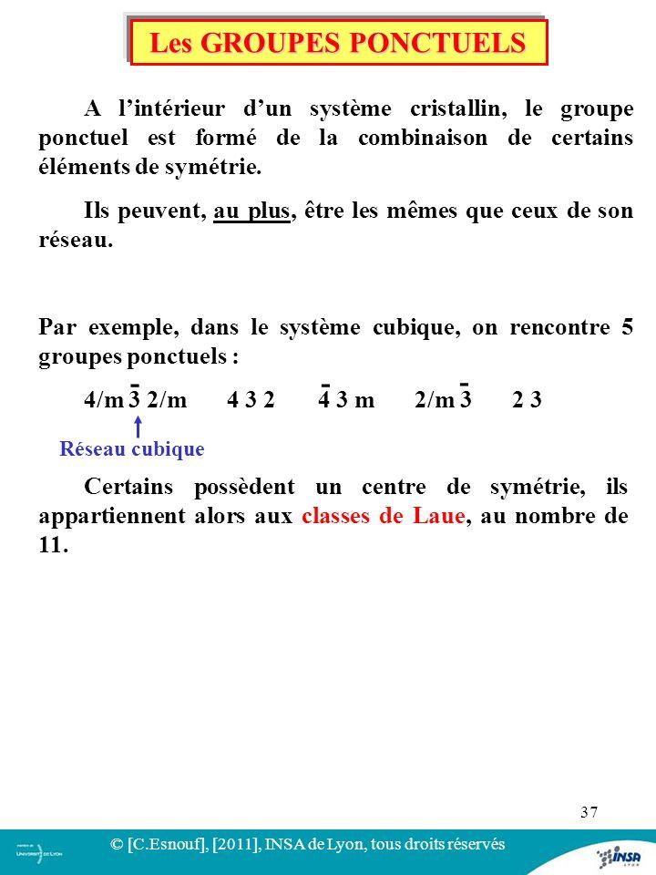© [C.Esnouf], [2011], INSA de Lyon, tous droits réservés